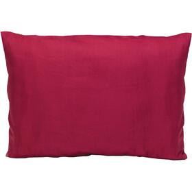 Cocoon Pillow Case medium, silk/cotton monk's red